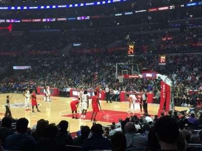 Staples Center, sección: 108, fila: 13, asiento: 16