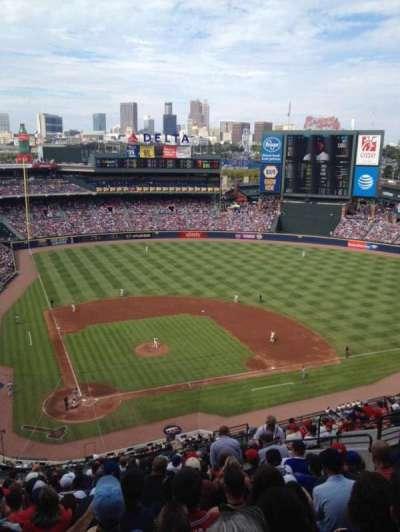 Turner Field, sección: 405, fila: 17, asiento: 12