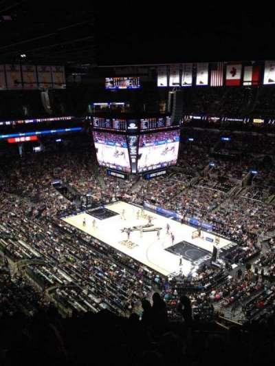 AT&T Center, sección: 220, fila: 13, asiento: 4