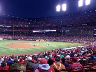 Busch Stadium, sección: 161, fila: 18, asiento: 12
