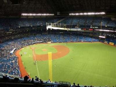 Rogers Centre, sección: 509L, fila: 25, asiento: 2