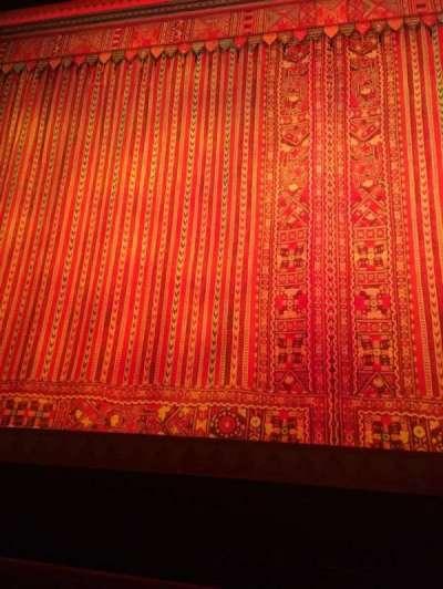 Cadillac Palace Theater, sección: Orchestra C, fila: A, asiento: 110
