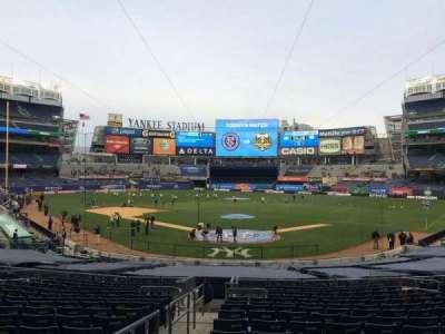 Yankee Stadium sección 120a