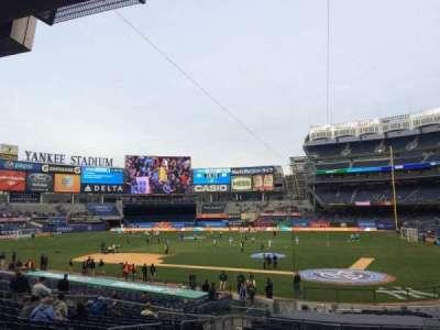 Yankee Stadium sección 121b