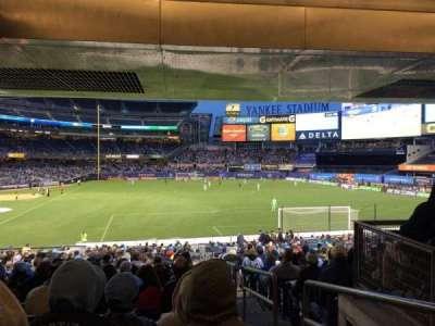 Yankee Stadium sección 114b