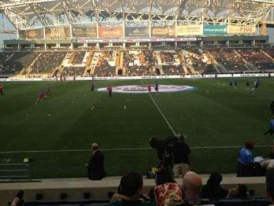 Talen Energy Stadium, sección: 106, fila: N, asiento: 4