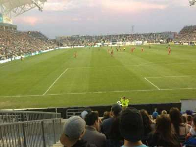 Talen Energy Stadium, sección: 118, fila: K, asiento: 17