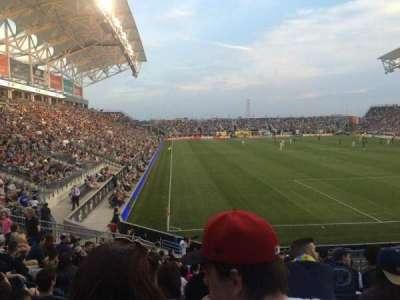 Talen Energy Stadium, sección: 120, fila: R, asiento: 11