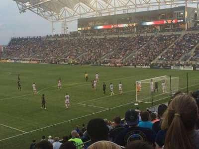 Talen Energy Stadium, sección: 120, fila: R, asiento: 12