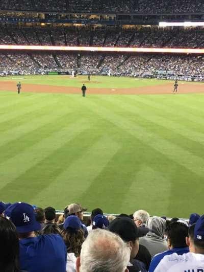 Dodger Stadium, sección: 314PL, fila: N, asiento: 10