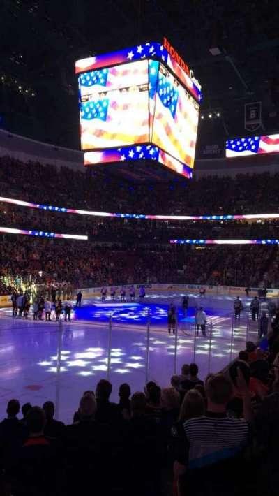 Honda Center, sección: 226, fila: K