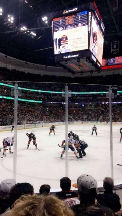 Honda Center, sección: 227, fila: E, asiento: 4