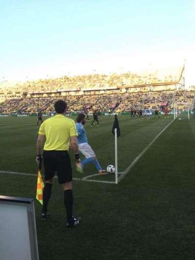 Mapfre Stadium, sección: 121, fila: 1, asiento: 3