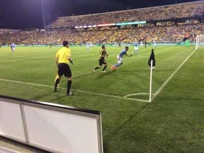 Mapfre Stadium, sección: 121, fila: 1, asiento: 2