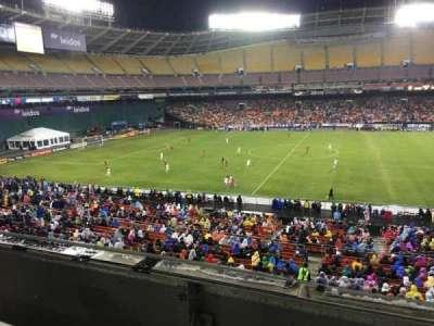 RFK Stadium, sección: M35, fila: 1, asiento: 8