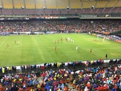 RFK Stadium, sección: M35, fila: 1, asiento: 7