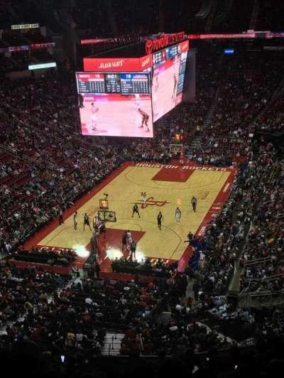 Toyota Center, sección: 433, fila: 14, asiento: 14