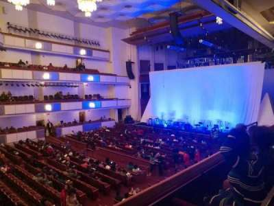 The Kennedy Center Concert Hall, sección: Box Tier, fila: 32, asiento: 1