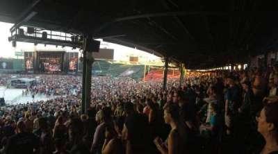 Fenway Park, sección: Grandstand 15, fila: 10, asiento: 16