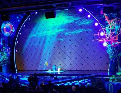 Palace Theatre (Broadway), sección: Orch, fila: P, asiento: 4