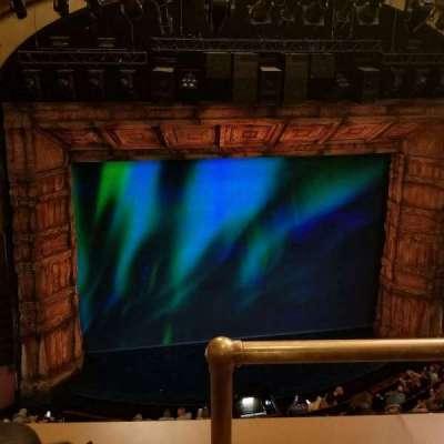 St. James Theatre, sección: Balcony, fila: B, asiento: 1