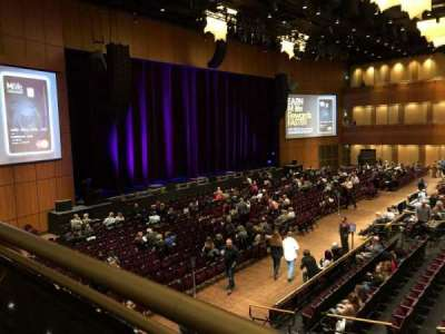 The Theater at MGM National Harbor, sección: 202, fila: A, asiento: 9