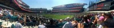 Lincoln Financial Field, sección: 126, fila: 25, asiento: 1