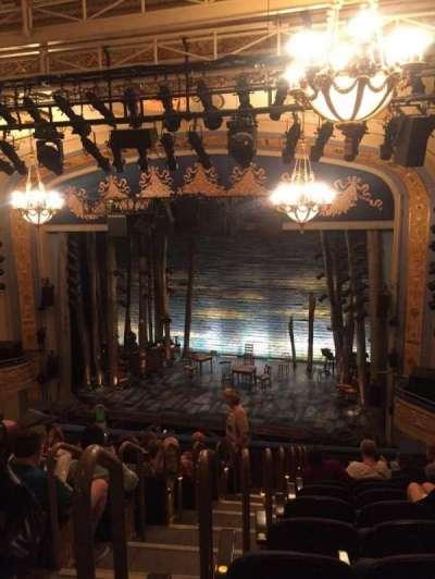 Gerald Schoenfeld Theatre, sección: Mezz, fila: K, asiento: 4