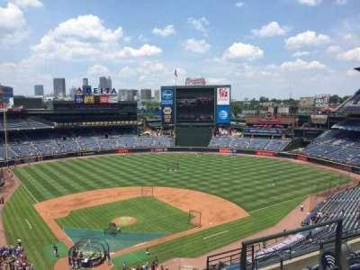 Turner Field, sección: 405L, fila: 7, asiento: 103