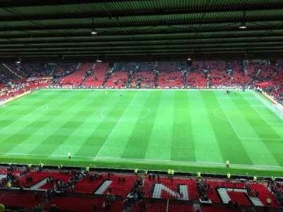 Old Trafford, sección: N4406, fila: 2, asiento: 63