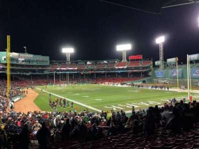 Fenway Park, sección: Right Field Box 2, fila: 3, asiento: 16