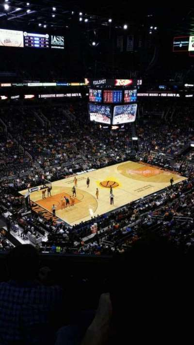 Talking Stick Resort Arena, sección: 207, fila: 5, asiento: 11