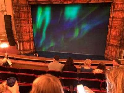 St. James Theatre, sección: Mezzanine Center, fila: E, asiento: 103
