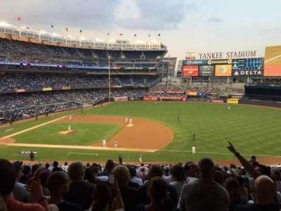 Yankee Stadium sección 214b