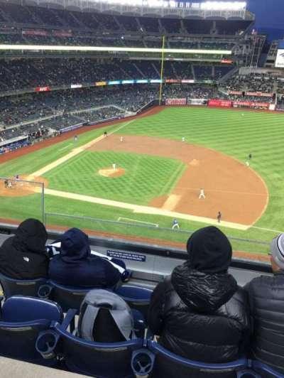 Yankee Stadium, sección: 314, fila: 4, asiento: 22