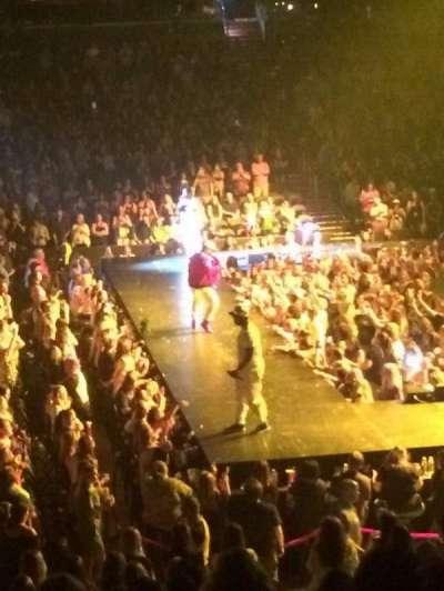Capital One Arena, sección: 112, fila: S, asiento: 4