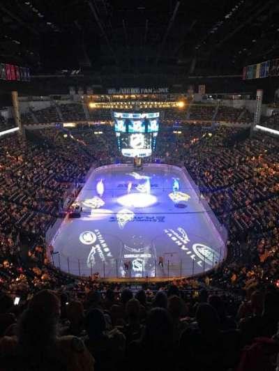 Bridgestone Arena, sección: 301, fila: H, asiento: 11