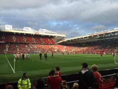 Old Trafford, sección: 101, fila: JJ, asiento: 180