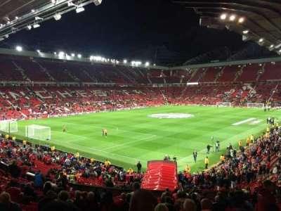 Old Trafford, sección: W210, fila: 21, asiento: 65