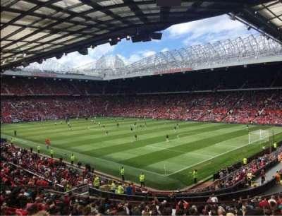 Old Trafford, sección: E230, fila: 22, asiento: 60