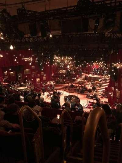 Imperial Theatre, sección: Rear Mezzanine, fila: G, asiento: 1