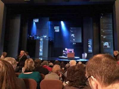 Music Box Theatre, sección: Orchestra, fila: L, asiento: 105