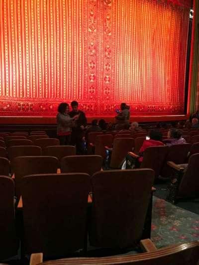New Amsterdam Theatre, sección: Orchestra, fila: J, asiento: 5