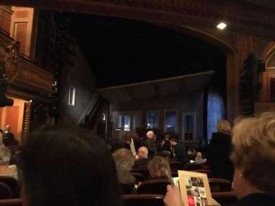 American Airlines Theatre, sección: Orchestra, fila: M, asiento: 9