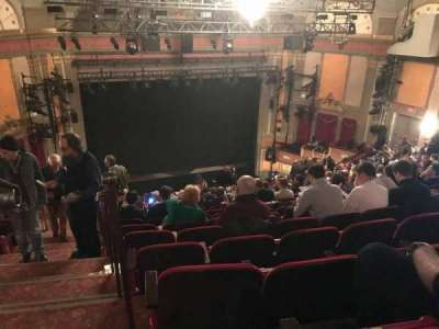 Neil Simon Theatre, sección: Mezzanine, fila: S, asiento: 101