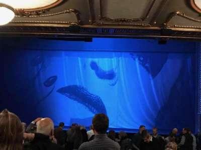 Palace Theatre (Broadway), sección: Orchestra, fila: W, asiento: 108