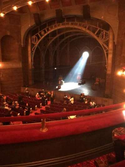 Lyric Theatre, sección: Dress Circle, fila: B, asiento: 6