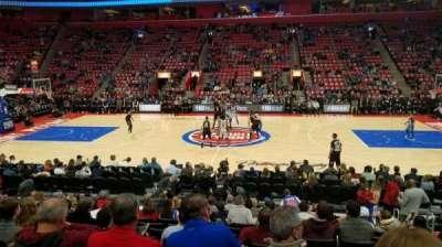 Little Caesars Arena, sección: 109, fila: 12, asiento: 5