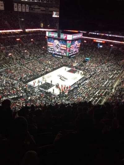 AT&T Center, sección: 213, fila: 16, asiento: 17