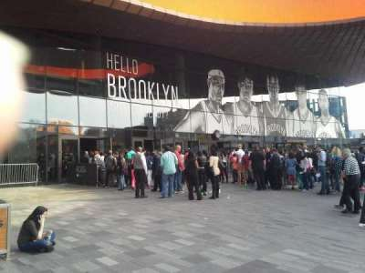 Barclays Center sección Entrance